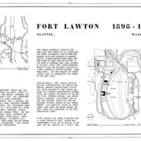 HABS WASH,17-SEAT,7- (sheet 1 of 2) - Fort Lawton, Discovery Park, Seattle, King County, WA